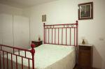 Interior - Red double bedroom