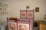 Interior - Pink double bedroom